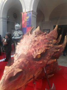Dragon Head ont he Red Carpet